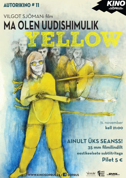 "Silja Paulus: movie ""I am Curious – Yellow"""