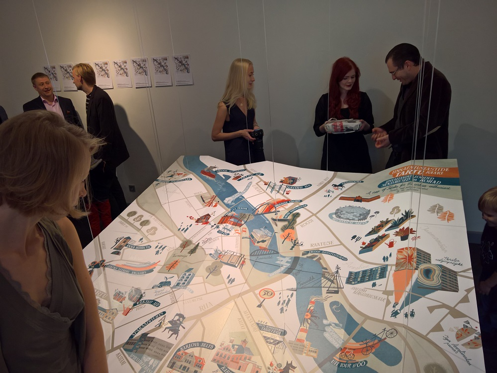 "Gallery: ""Who Creates the City"" at TartMus"