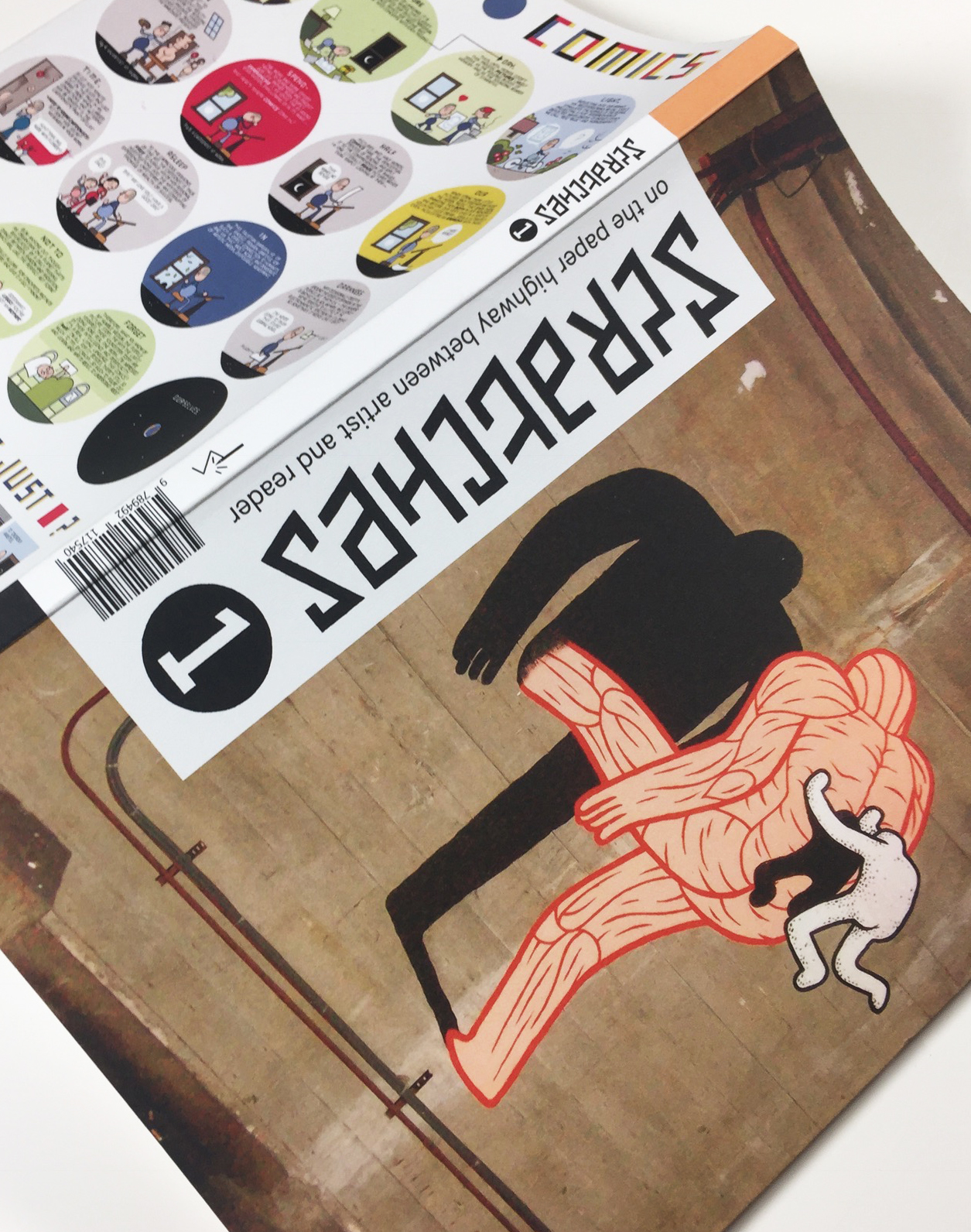 Veiko Tammjärv's work published in a prestigious avant-garde comic magazine in Holland