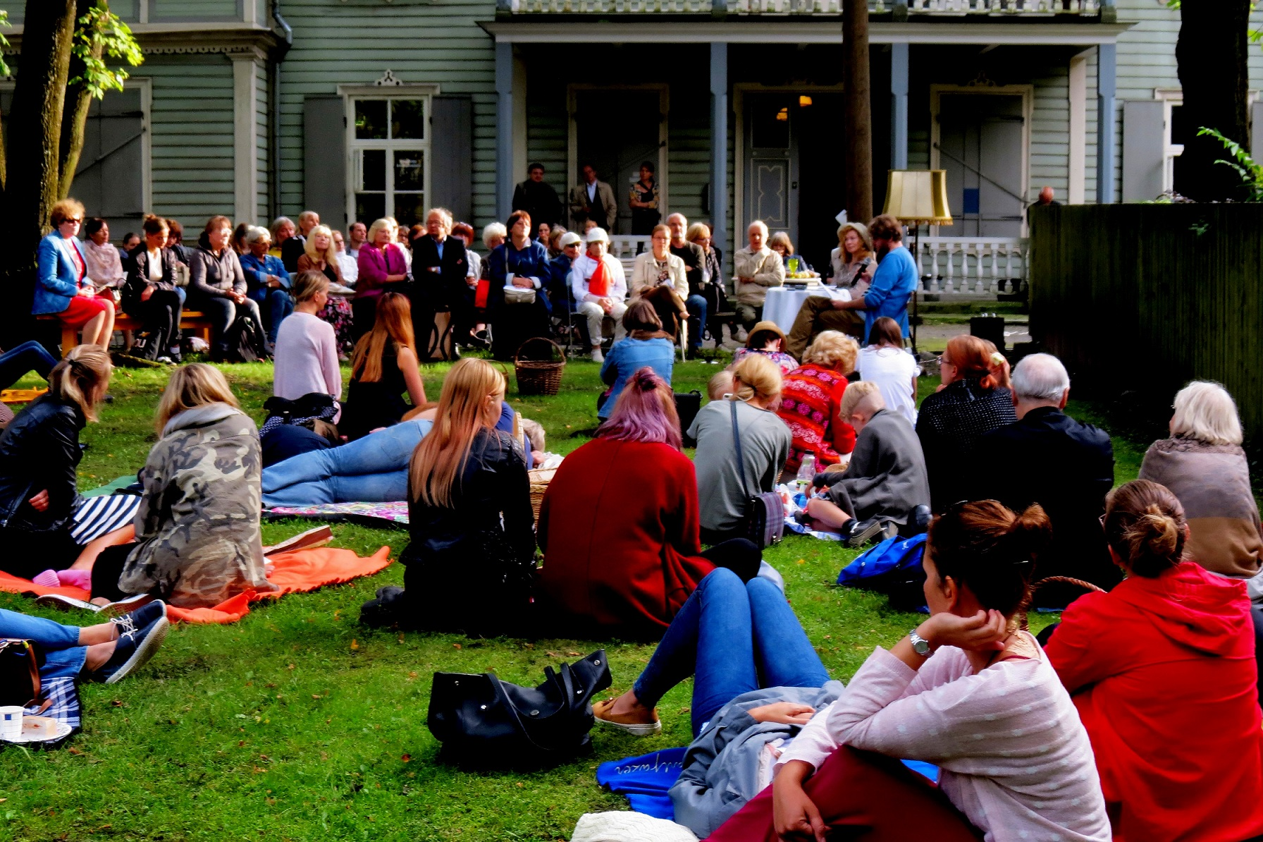 Culture.ee's interview: Tallinn Literary Street Festival will make you see Kadriorg in a different light